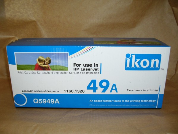 TONER Q5949A  cartridge - Ikon HP 1160 / 1320 / 3390 3000 A4